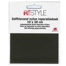 Zelfklevend nylon reparatiedoek ~ mosgroen (542)