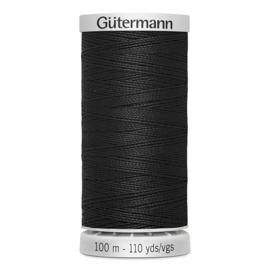 Gütermann super sterk ~ kleur 000 (zwart)