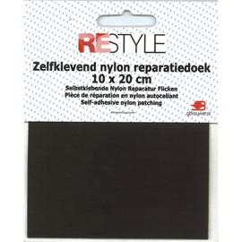 Zelfklevend nylon reparatiedoek ~ bruin