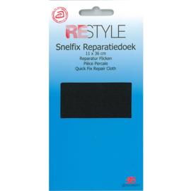 Snelfix reparatiedoek ~ kleur 000 (zwart)