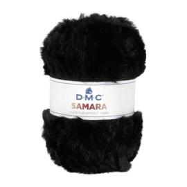 DMC Samara ~ kleur 401 (zwart)