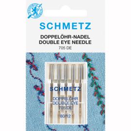 """Schmetz dubbel oog naald """"magic"""""""