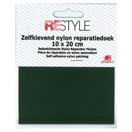 Zelfklevend nylon reparatiedoek ~ donkergroen (461)