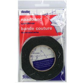 Vlieseline Naadband ~ zwart