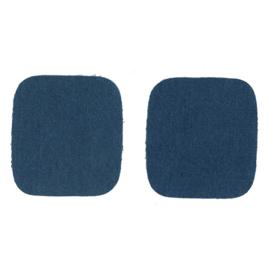 Kniestukken jeans ~ kleur 210 (blauw)