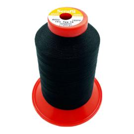 Mettler Serafil ~ kleur 4000 (zwart)