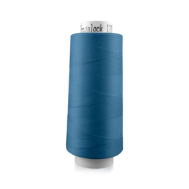 Amann Trojalock garen ~ kleur 7089 (blauw)