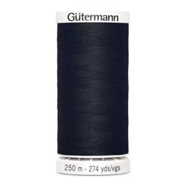 250 meter ~ kleur 000 (zwart)  (Gütermann)