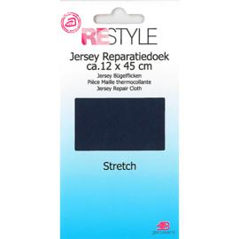 Jersey reparatiedoek ~ kleur 210 (marine)