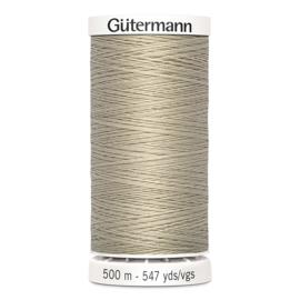 Gutermann 500m ~ kleur 722 (beige)