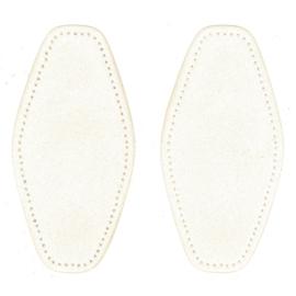 Elleboogstukken ~ kleur 089 (gebroken wit)
