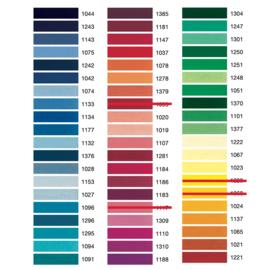 Madeira Rayon borduurgaren kleurenkaart 1 & 2