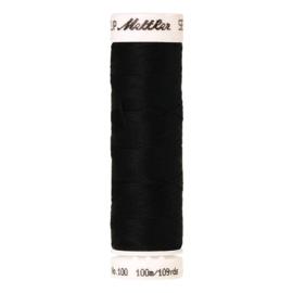 100m. Mettler Seralon ~ zwart (4000)