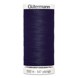 Gutermann 500m ~ kleur 339 (donkerblauw)