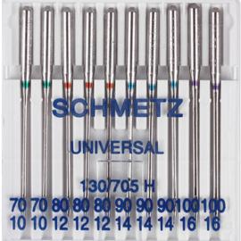 Schmetz nr.70/80/90 univers. 10 stuks