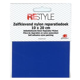 Zelfklevend nylon reparatiedoek ~ kobaltblauw (215)