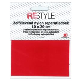 Zelfklevend nylon reparatiedoek ~ rood (722)