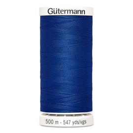 Gutermann 500m ~ kleur 214 (blauw)