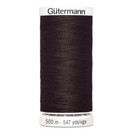 Gutermann 500m ~ kleur 696 (bruin)