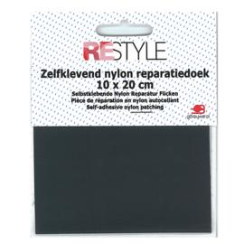 Zelfklevend nylon reparatiedoek ~ grijs (002)