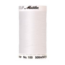 Naaigaren 500 meter ~ kleur 2000 (wit)(Mettler Seralon)