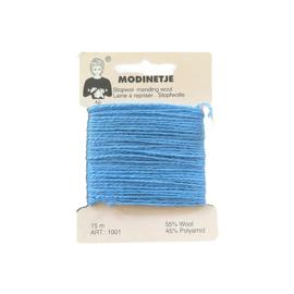 Stopwol ~ blauw (055)
