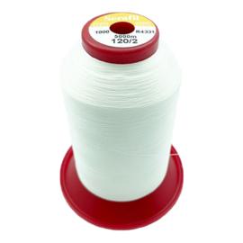Mettler Serafil ~ kleur 1000 (off white)