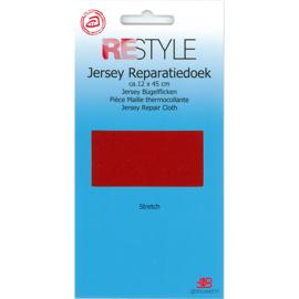 Jersey reparatiedoek ~ kleur 722 (rood)