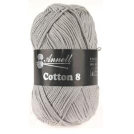 Cotton 8 kleur 57 (lichtgrijs)