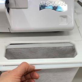 Afvalbak/-zak lockmachine