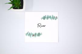 Geboortekaartje River