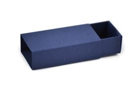 Schuifdoosje nachtblauw