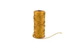 Koord glanzend goud - 1mm
