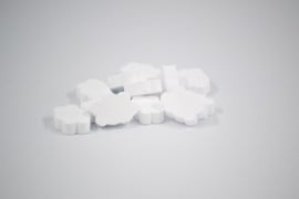 Suikerwolkjes wit