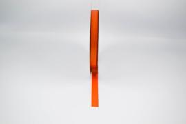 Lint zijde oranje - 15mm