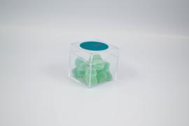 Plexi kubus met deksel