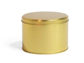Blikken bewaardoos goud