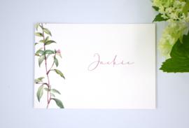Geboortekaartje Jackie