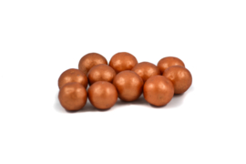 Choco choops glanzend koper