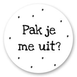 Sticker Pak je me uit? | 10 stuks