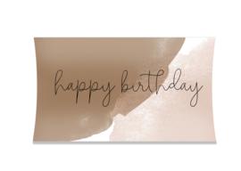 Cadeaudoosje Happy birthday