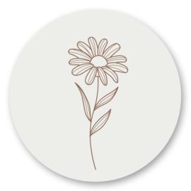 Sticker Flower | 10 stuks