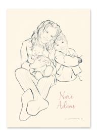 Geboortekaartje Nure