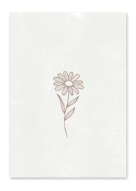 Ansichtkaart Flower