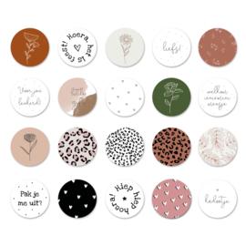 Set stickers (60 stuks)