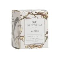 Geurkaarsje Vanilla