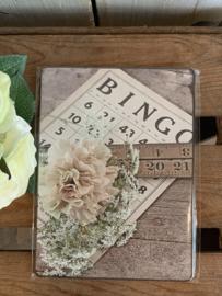 Nostalgisch Bordje 'Bingo'