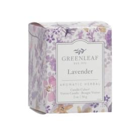Geurkaarsje Lavender