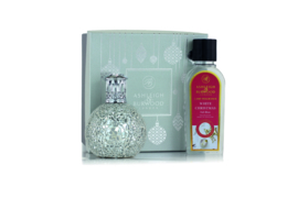 Twinkle Star Fragrance Lamp + 250ml White Christmas Lamp Oil
