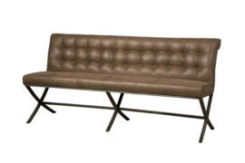 Barcelona Bench Brown